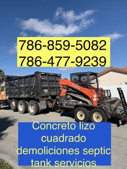 Bobcat Excavadora Mini Excavator And Volteo.)✅(((.demolition Servic es.)))✅✅✅.!!!. for Sale in Miami,  FL