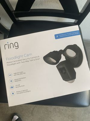 Ring flood light security camera for Sale in Oceanside, CA