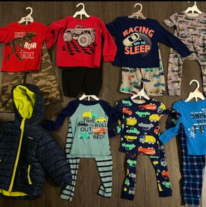 3T clothing lot pajama's and winter clothes for Sale in Culver City, CA