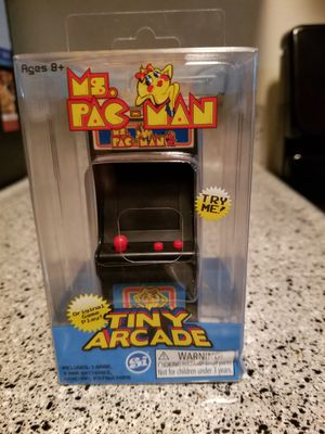 Mrs pacman arcade video game keychain for Sale in Los Angeles, CA