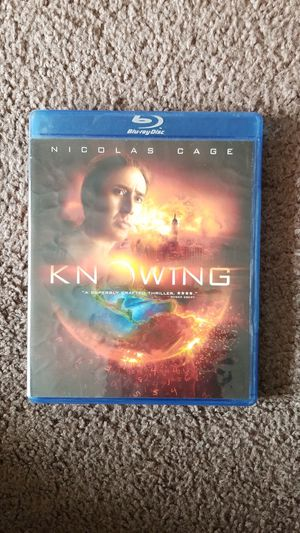 Knowing, blu ray for Sale in Lincoln, NE