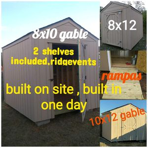 Shed 8x10 gable for Sale in San Antonio, TX