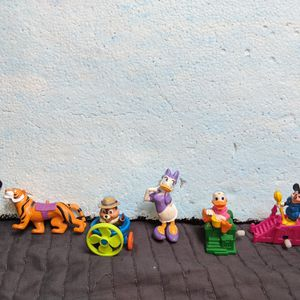 Disney Action Figures Lot Chip N Dale Mickeyouse Aladdin More for Sale in Tigard, OR