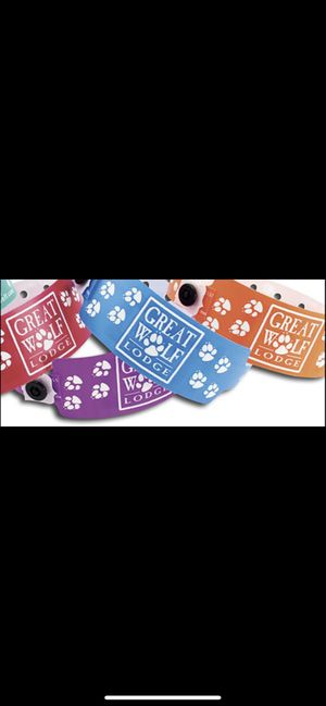 Great Wolf Lodge Water Park Wristbands for Sale in Anaheim, CA