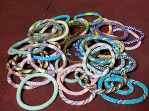 Handmade Glass Beaded Bracelets $5 EACH FIRM for Sale in Portland, OR
