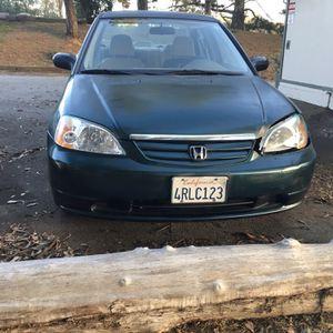 2001 Honda Civic LX for Sale in Salinas, CA