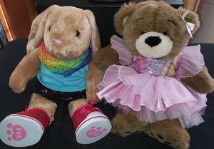 2-Cute Build a Bear BEARS for Sale in Hyattsville, MD