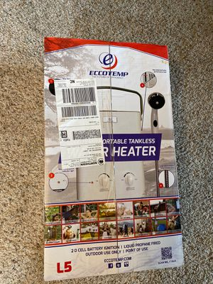 Eccotemp L5 Portable Tankless Water Heater for Sale in Beaverton, OR