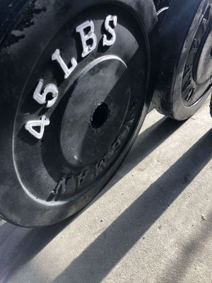 "2"" Olympic Barbell Weight Set for Sale in Los Angeles, CA"