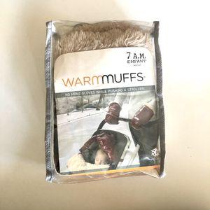 7AM Navy Polar Warmmuffs Stroller Gloves for Sale in Brooklyn, NY