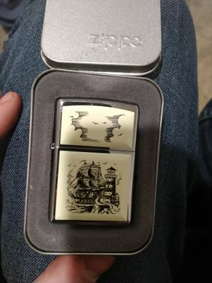 Super cool sailship Zippo lighter!!! for Sale in Seattle, WA