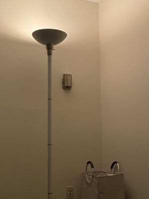 White Floor Lamp for Sale in Silver Spring, MD
