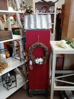 Rustic Red Cabinet for Sale in Galt, CA