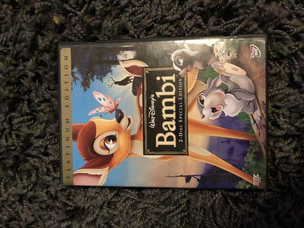 Bambi Platinum Edition DVD