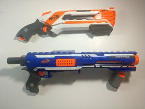 Nerf elite rampage with drum rughcut blaster guaranteed to fire as expected for Sale in Virginia Beach, VA