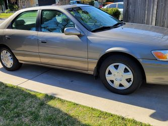 Toyota Camry 2000 Runs Great Tags Are Good Until July 2021 Smog Already Clean Title Paperwork On Hand for Sale in Stockton,  CA