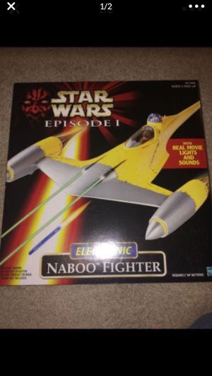 Star Wars Naboo Fighter for Sale in Cibolo, TX
