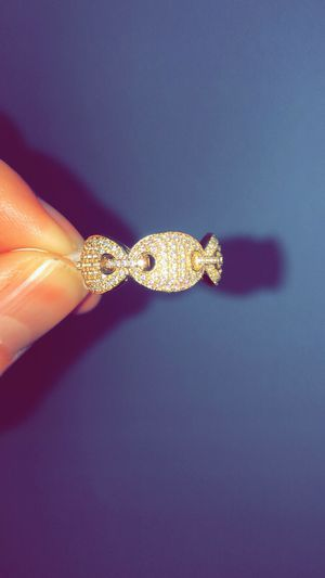 Size 6,7,8,9,10 Vermeil GUCCl ring for Sale in Lawndale, CA