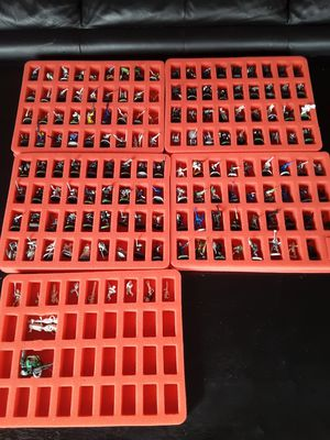 Games Workshop 155 Piece Miniarture Figurine Set with Case for Sale in Sudley Springs, VA