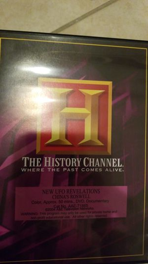The History Channel . UFO Files Collection for Sale, used for sale  Miramar, FL