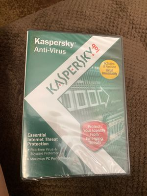 Anti spyware and Antivirus by norton and kaspersky lab for Sale in Tucson, AZ