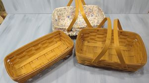 3 Longaberger collectible Baskets for Sale in Port Orchard, WA