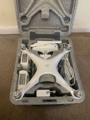DJI Phantom 4 drone set and custom case for Sale in York, PA