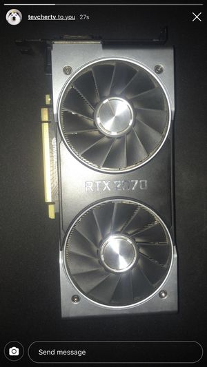 RTX 2070 founders edition for Sale in Richland, WA