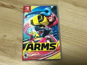 ARMS Nintendo switch for Sale in El Cajon, CA