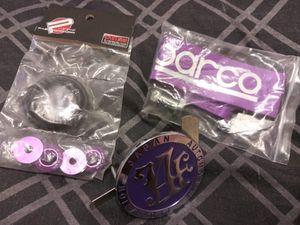 Chapa japonesa ,correa y los puntos en color violeta for Sale in Lancaster, PA