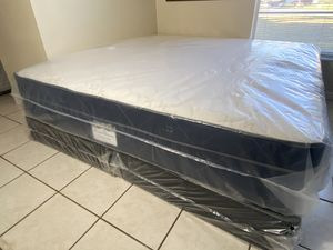 New King Pillowtop Mattress Boxsprings FREE DELIVERY for Sale in Tampa, FL