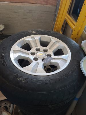 Set of 4 chevy Oem factory 18 in rims and tire for Sale in PA, US