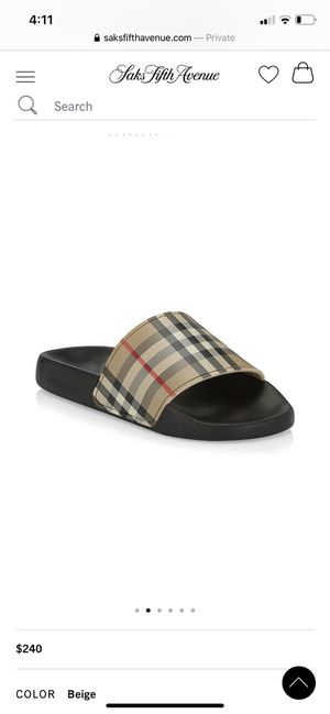Burberry Slides for Sale in Long Beach, CA