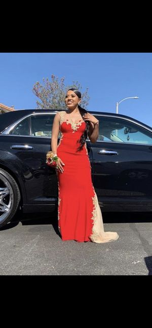 Red PROM dress for Sale in Lancaster, CA