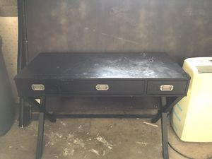 Black desk for Sale in Gibsonia, PA