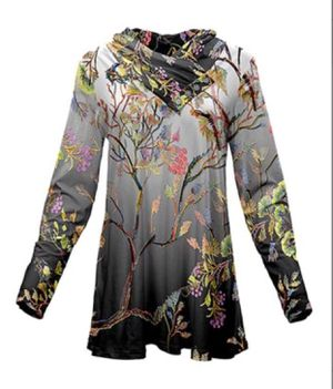 Silver Forest Floral tunic (L) for Sale in South Euclid, OH
