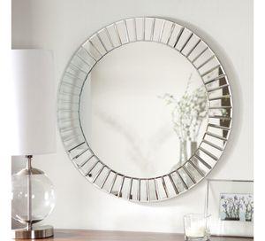 Modern wall mirror piece- living room, bathroom, bedroom, kitchen, wall decor, office for Sale in Orlando, FL