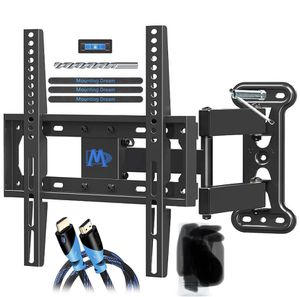 Mounting Dream UL Certificated TV Mount Full Motion for 26-55 Inch LED,LCD,OLED Flat Screen TV, Perfect Center Design, TV Wall Mount Bracket with Art for Sale in Los Angeles, CA