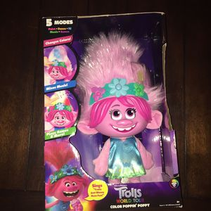 Trolls World Tour Poppy Doll for Sale in Houston, TX