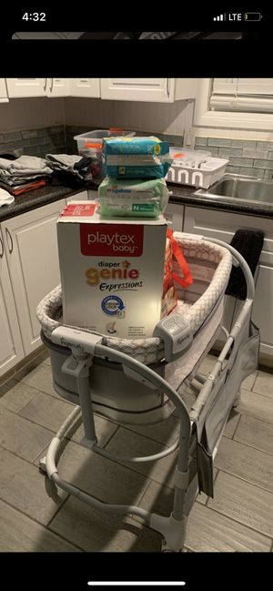 Newborn,Bassinet,Diapers,Diaper Genie, Give me best offer! for Sale in Lakewood, CA