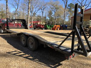2017 24 ft gooseneck flatbed, dovetail , ramps for Sale in Hockley, TX