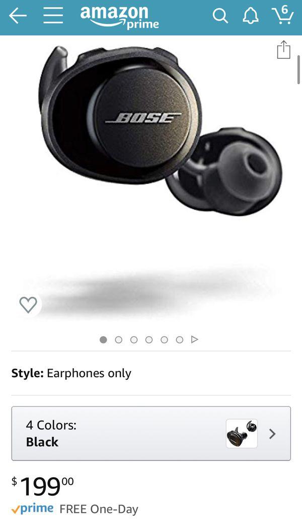 Bose Sound sport Free wireless earbuds