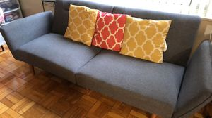 Grey Comfy Couch - with pillows- for Sale in Washington, DC