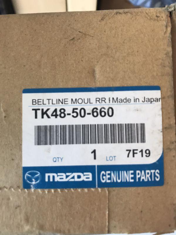mazda tk48-50-660 belt molding