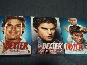 Dexter: Season 2-4 DVDs for Sale in Fort Lauderdale, FL