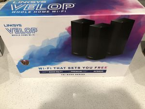 Linksys Velop Tri-band AC6600 whole home mesh WiFi system for Sale in San Diego, CA