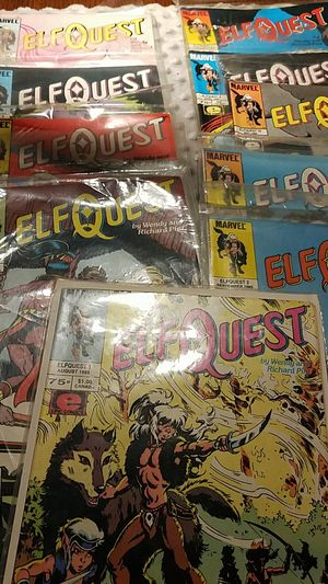Marvel's elfquest 1985 issues number 1 through 10 good condition for Sale in Monterey Park, CA