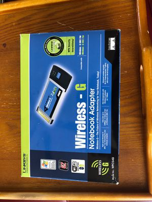 Wireless-G Notebook Adapter for Sale in Las Vegas, NV