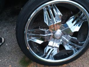 Tires with rim good condition for Sale in Decatur, GA