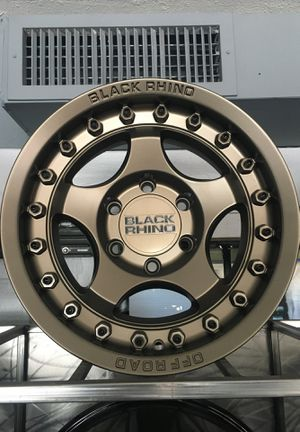 Black Rhino Bantam 16x8 bronze for Sale in Tempe, AZ